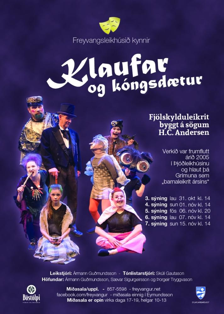 Freyvangur kongar og kongsdaetur 43-15-01